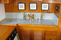 Corian Galley Countertop Jpg